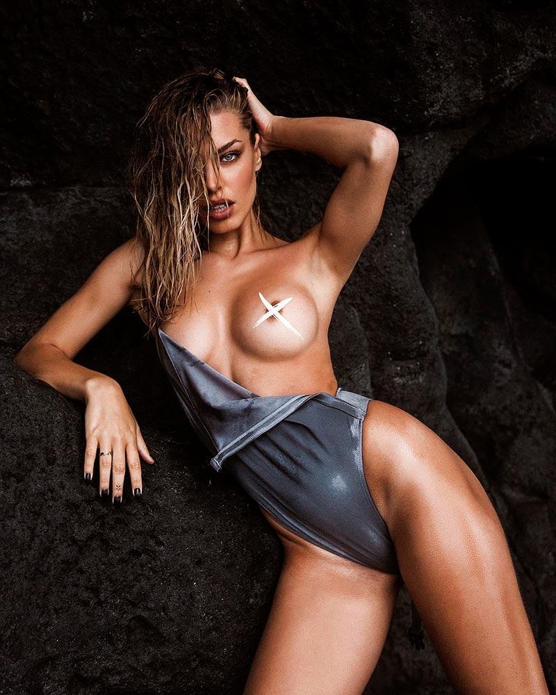 Jessica Goicoechea Topless Cuerpazo Espectacular 2