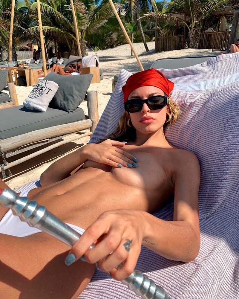 Jessica Goicoechea Topless Veraniego Atrevido