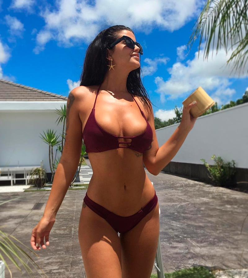 Lola Ortiz Bikini Provocativo Sexy 3