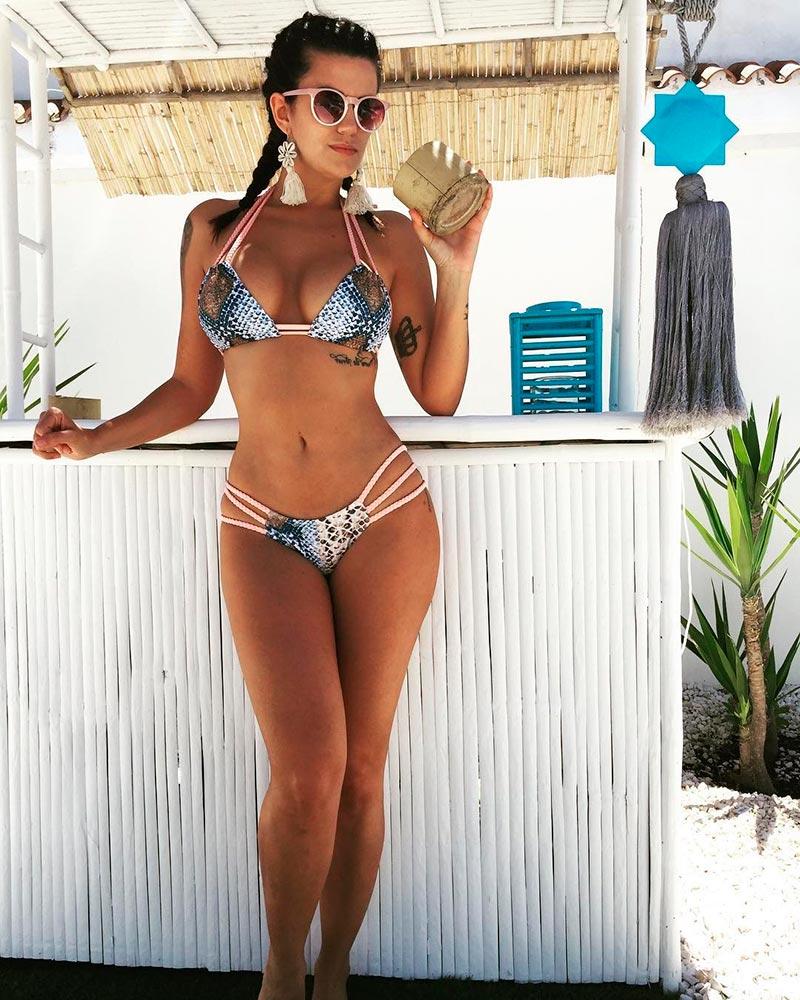 Lola Ortiz Bikini Provocativo Sexy 4