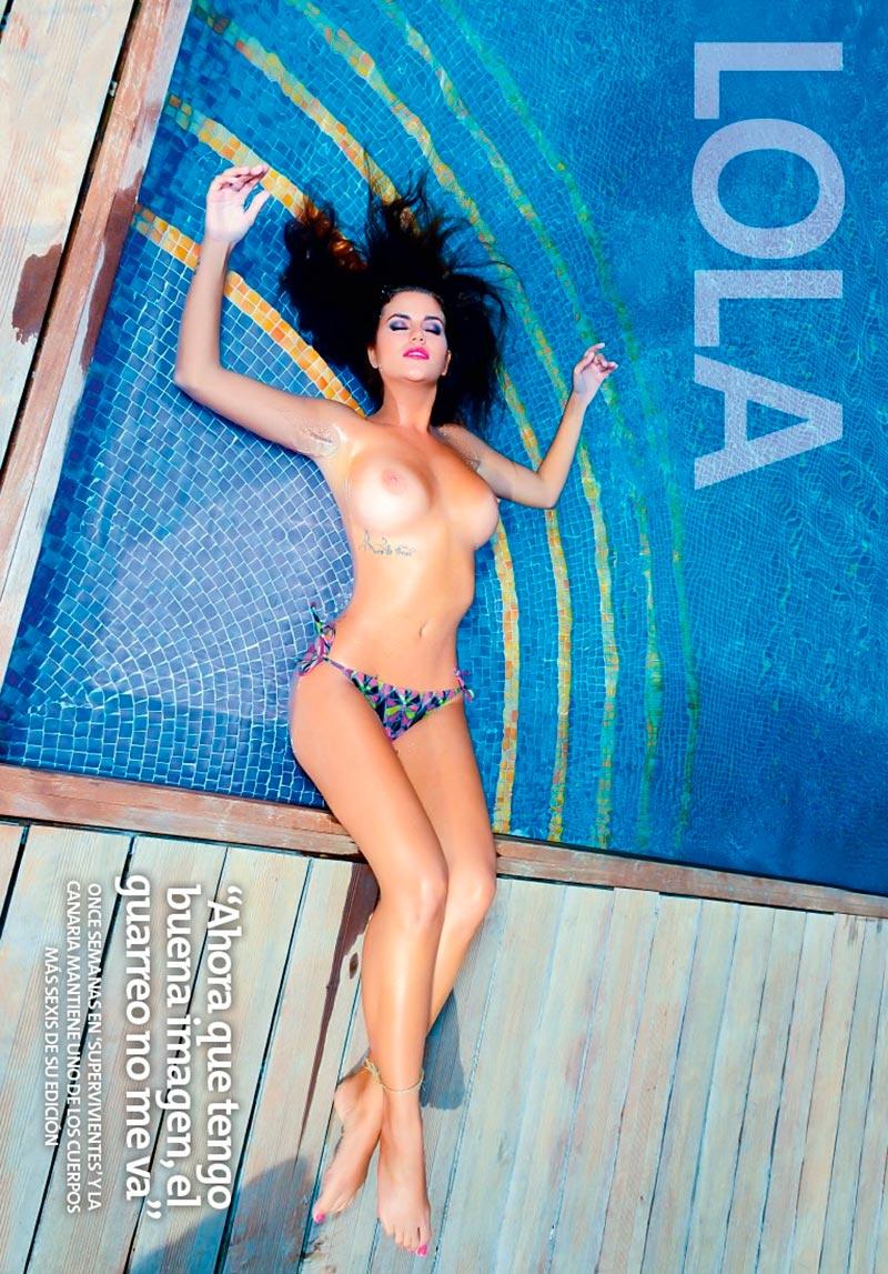 Lola Ortiz Canaria Portada Interviu 3