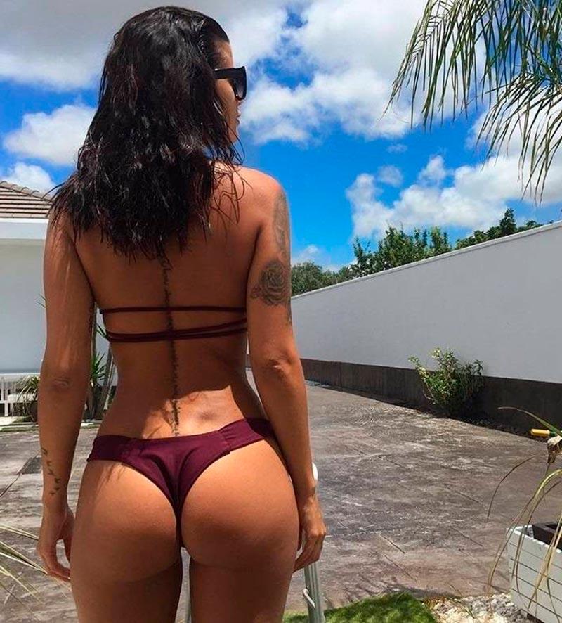 Lola Ortiz Culo Redondo Espectacular 5
