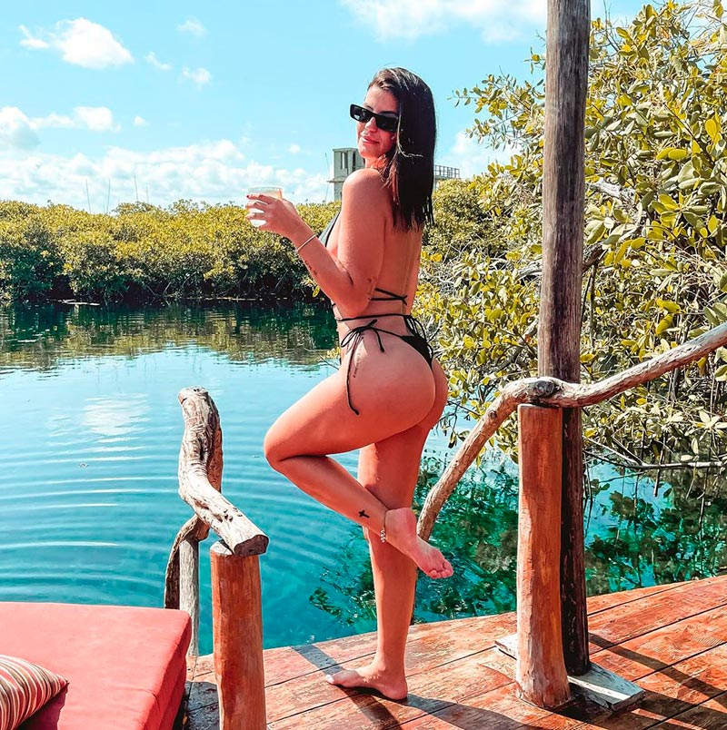 Lola Ortiz Culo Tanga Fotos 7