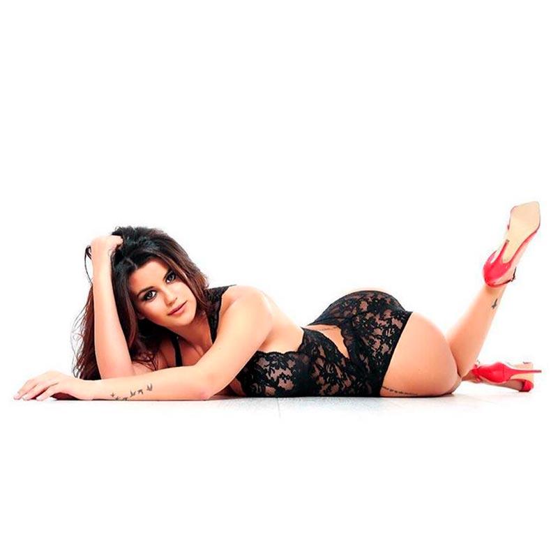 Lola Ortiz Sesión Fotos Erótica 3