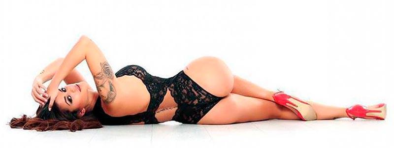 Lola Ortiz Sesión Fotos Erótica 4