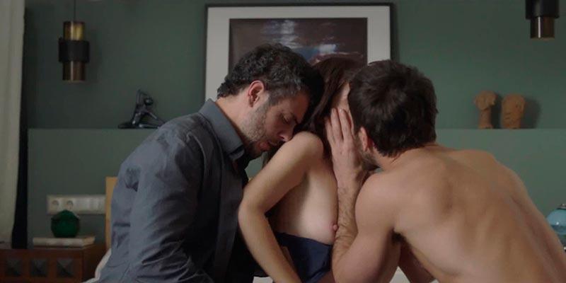 Nuria Gago Escena Sexualidad Serie Citas