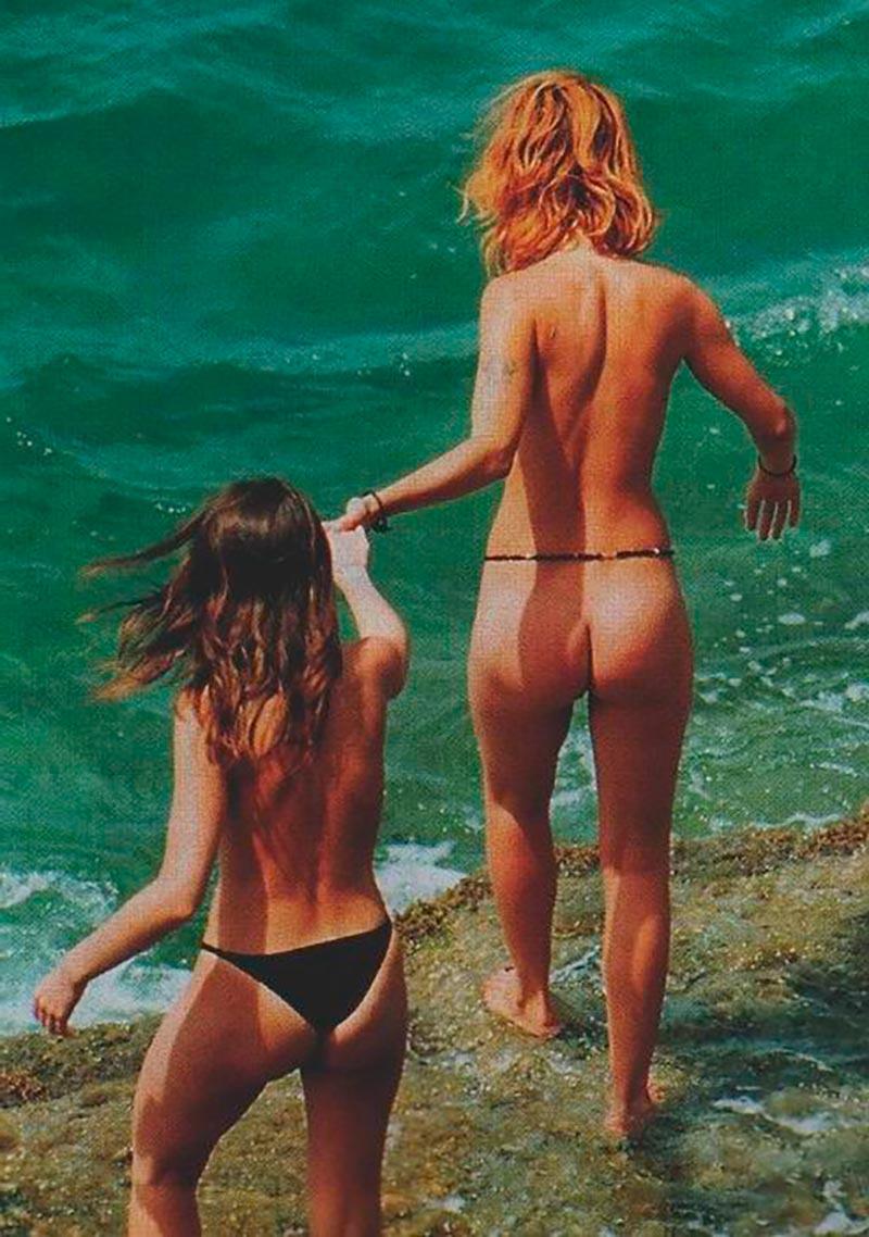 Silke Actriz Pillada Desnuda Playa 3