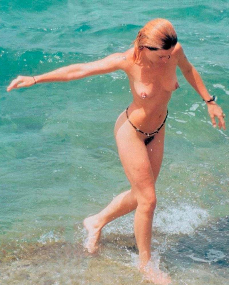Silke Actriz Pillada Desnuda Playa 5