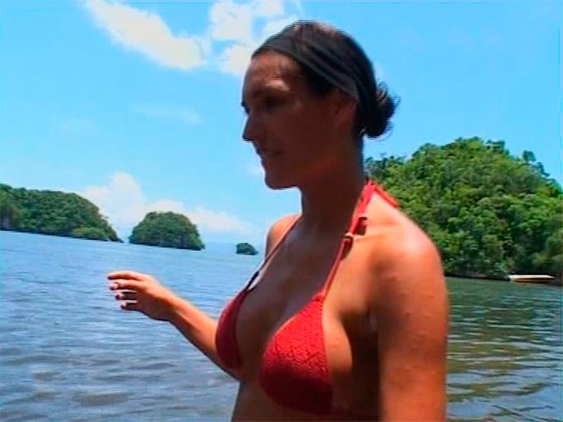 Verónica Hidalgo Bikini Concursante Reality Supervivientes 4