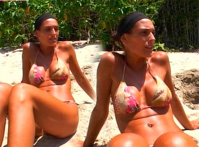 Verónica Hidalgo Bikini Concursante Reality Supervivientes 5