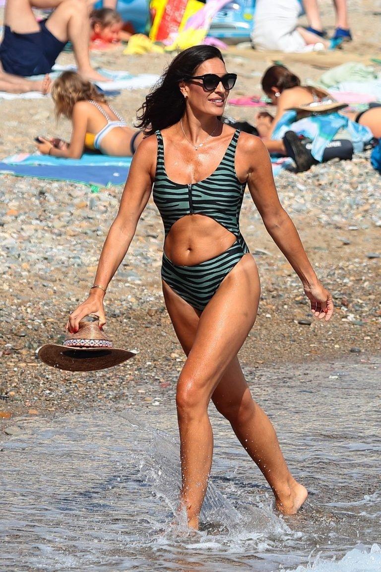 Verónica Hidalgo Sesión Fotográfica Vacaciones Traje Baño 2