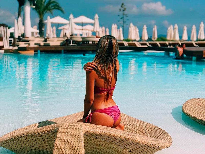 Lola Índigo Fotos Sexys Bañador Instagram