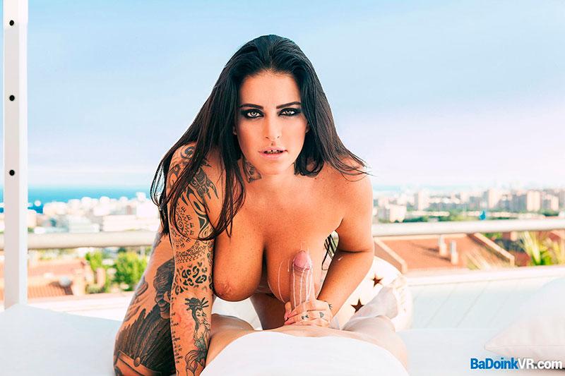Raquel Adan Pornostar Española Badoinkvr 3