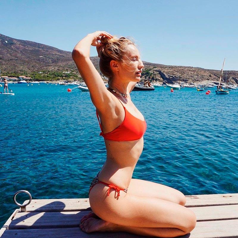 Renata Zanchi Bikini Sexy Supermodelo Italiana 5