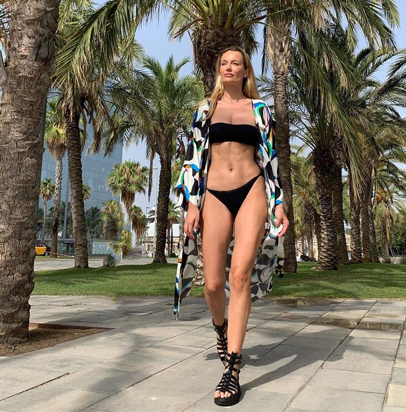 Renata Zanchi Bikini Sexy Supermodelo Italiana
