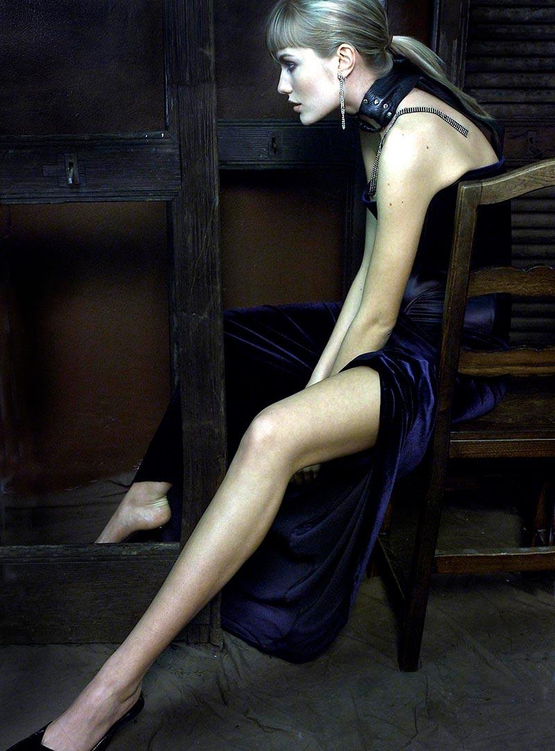 Renata Zanchi Posado Sin Ropa Revista Moda 3
