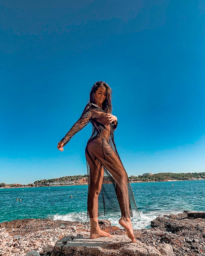 Fiama Rodríguez Desnuda Reality Isla Tentaciones 2
