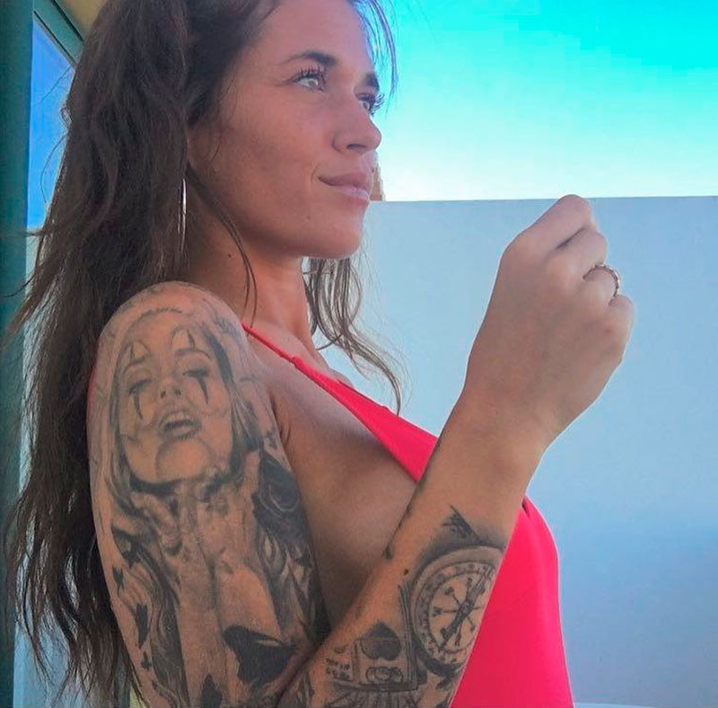 Fiama Rodríguez Tatuajes Canaria Guapa Secret Story