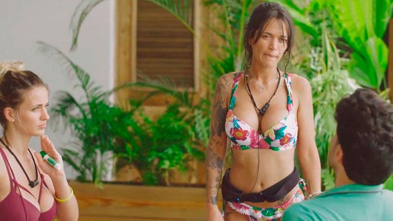 Fiama Pechos Fotos Sexys Isla Tentaciones 3
