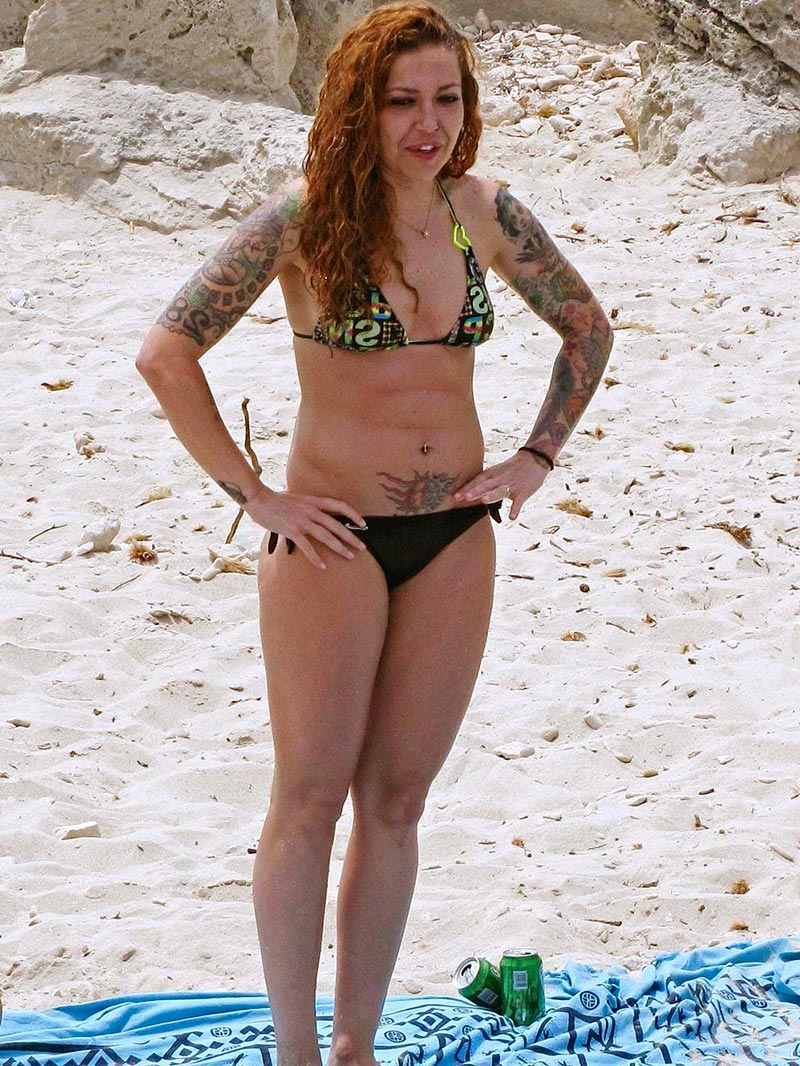 Sofía Cristo Fotos Bikini Pillada Playa