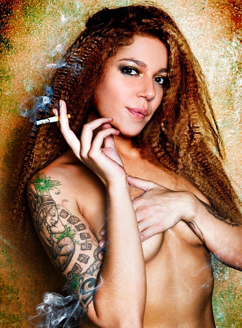 Sofía Cristo Topless Revista Interviu 2