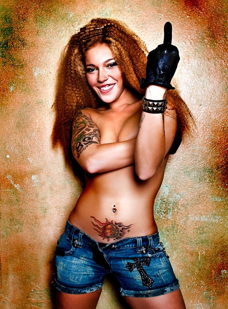 Sofía Cristo Topless Revista Interviu